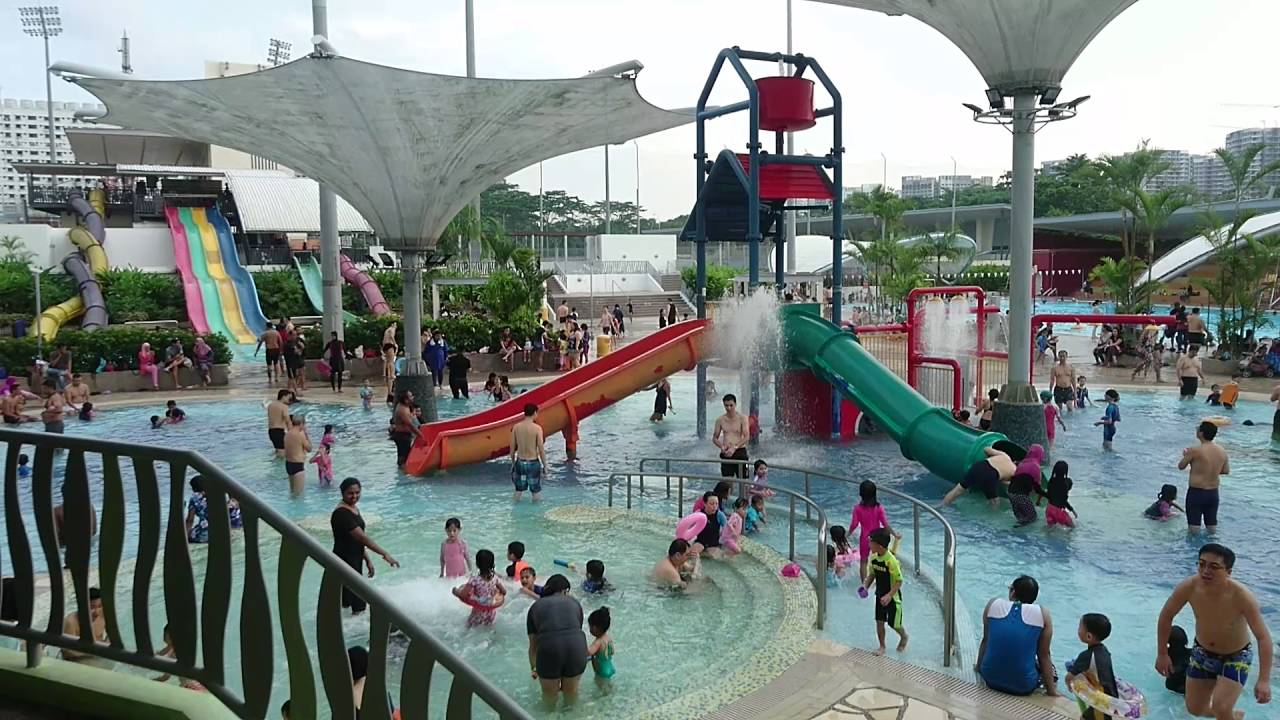 Singapore Sengkang Swimming Complex Youtube