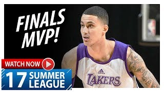 Kyle Kuzma Full Highlights vs Trail Blazers (2017.07.17) Summer League - 30 Pts, 10 Reb, FINALS MVP!