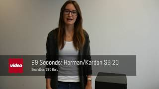 99 Seconds Harman Kardon SB 20