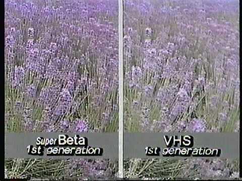 1985 Sony Super Betamax vs. VHS promo sales tape. - YouTube