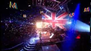 Maroon 5 Perform new song Payphone/Moves like Jagger Live on The Voice Final UK 2012