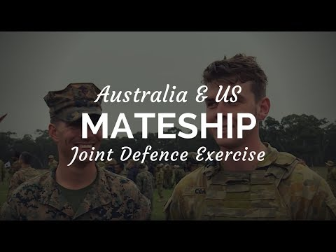 US Army and US Marine Corps visit Australian Defence