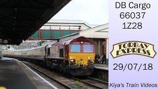 DB 66037 39 The Torbay Express 39 1Z28 Paignton 29 07 18