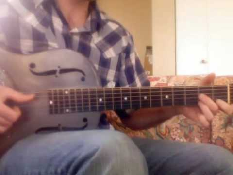 How To Play Taj Mahal's Fishin Blues - Full Speed