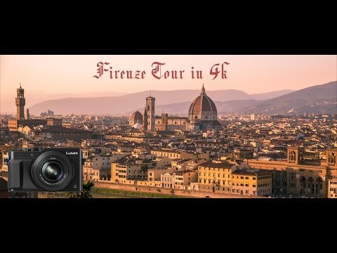 Firenze Tour in 4k