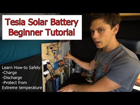 DIY Tesla Solar Battery: Beginner Tutorial