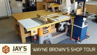 Wayne Brown's Shop Tour