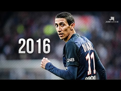 Angel Di Maria ● Amazing Skills & Goals ● 2015 2016