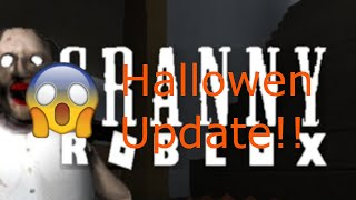 "Roblox #2 ""Granny"" Hallowen Update *szok*"