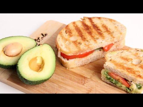 Homemade Guacamole Panini Recipe Laura Vitale Laura in the Kitchen Episode 934
