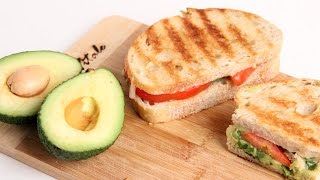 Homemade Guacamole Panini Recipe - Laura Vitale - Laura in the Kitchen Episode 934