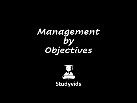 N0403A  Management by Objectives