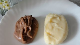 Заварной крем - простой и быстрый рецепт приготовления