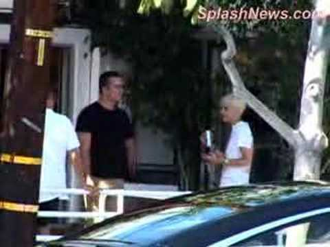 Samantha Ronson and Balthazar Getty in Los Angeles