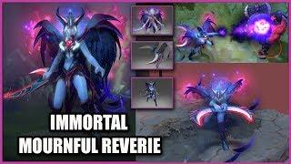 DOTA 2 Vengeful Spirit + Mournful Reverie + Scree'auk's Talon + Vestments of the Fallen Princess