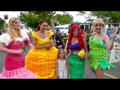 Princess Balloon Dresses