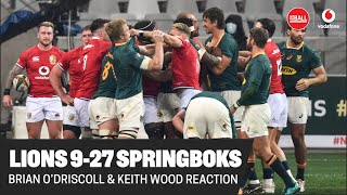Brian O'Driscoll & Keith Wood | Lions 9 - 27 South Africa | Post-match analysis