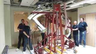 Isala Klinieken Philips bi-plane interventional x-ray room installation 13 May 2013