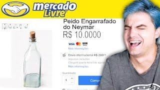 PRODUTOS BIZARROS DO MERCADO LIVRE - AUTOGRAFADO!