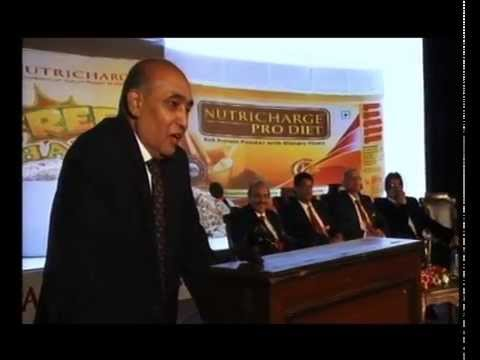 Nutricharge and Ipca connection - Speech by Mr. Premchand Godha
