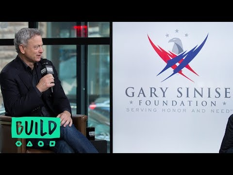Gary Sinise Speaks On His Foundation & Its Snowball Express Program
