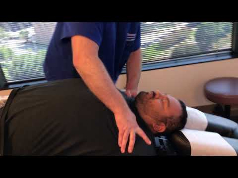 Severe Lumbar Herniated Disc & Sciatica Better After 2 Adjustments On Laredo Man