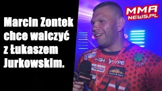 Marcin Zontek wraca do 93 kg, chce walczyć z Łukaszem Jurkowskim
