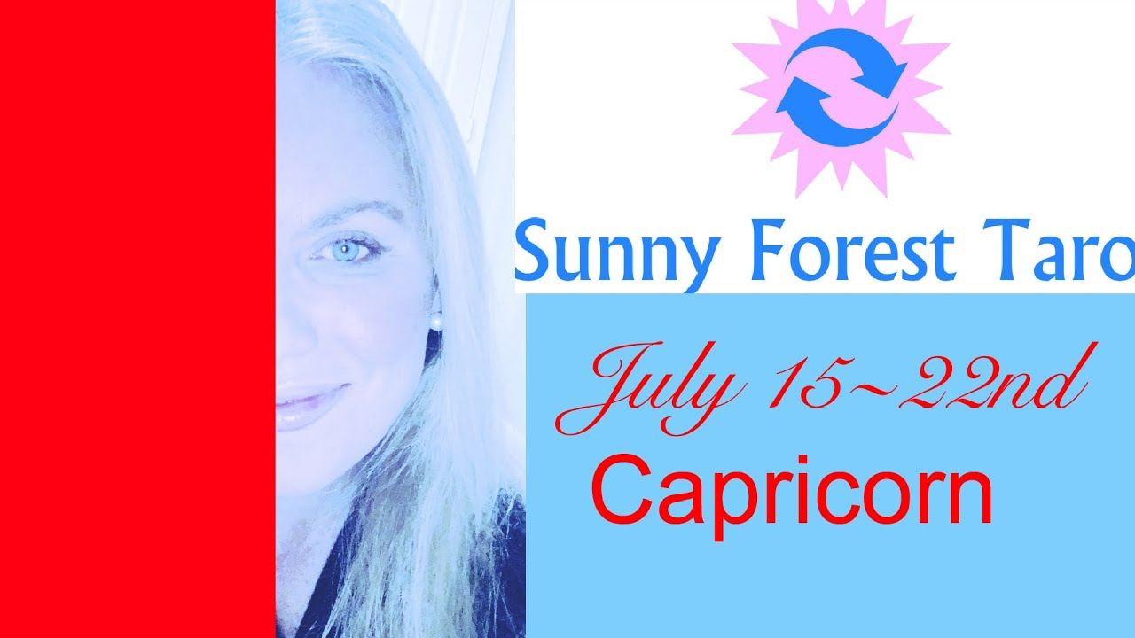 CAPRICORN   JULY 15-22   They see you in your best LIGHT   IN THEIR  EYES  YOU LEFT 💙💋