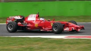 Ferrari F2007 & F2008 Formula 1 (F1) Cars Pure Sound