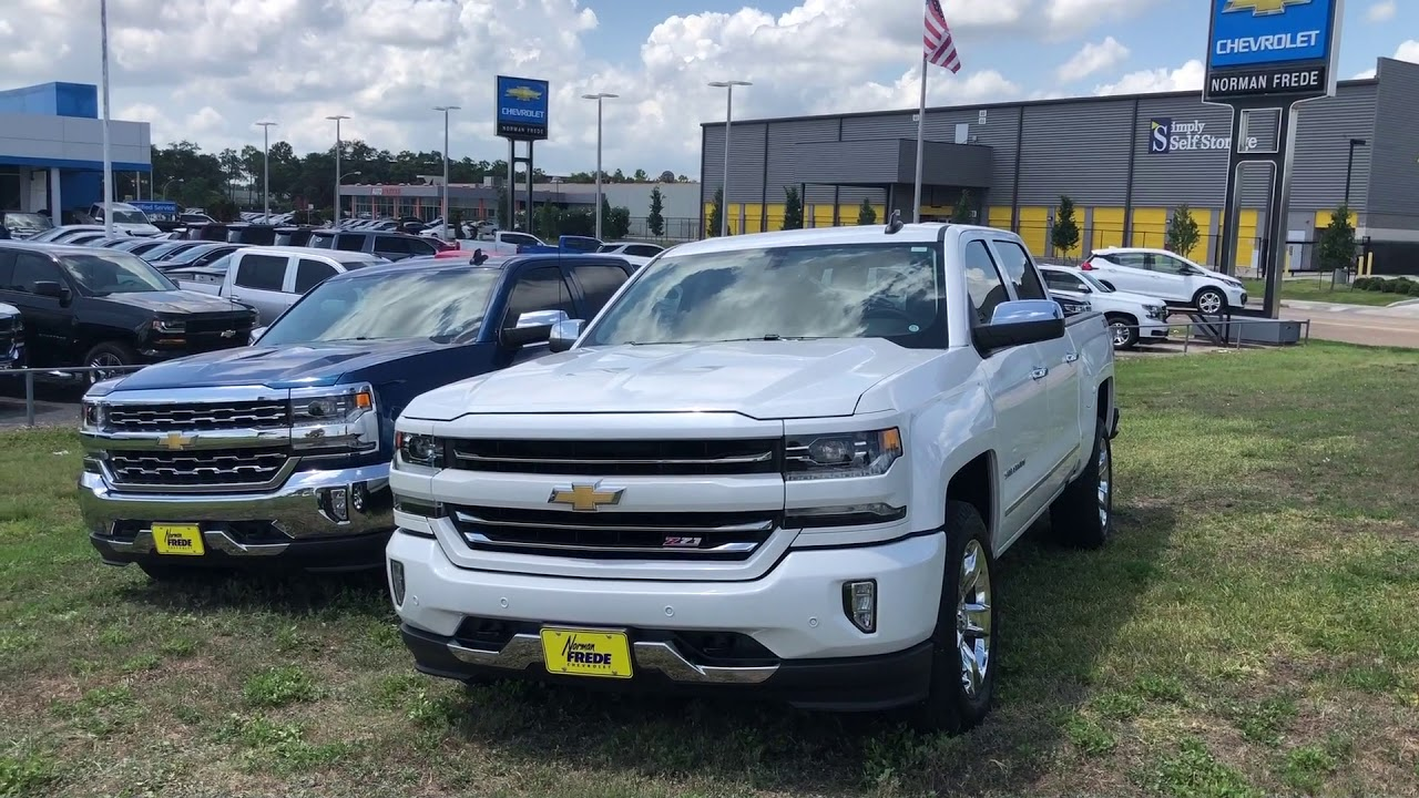 Silverado Z71 Vs 4x4 Differences From Norman Frede Chevrolet Youtube