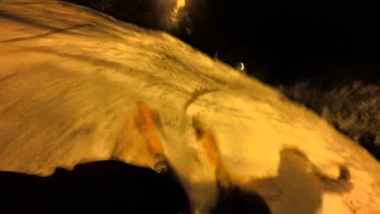 Skiing through Glades (GoPro)