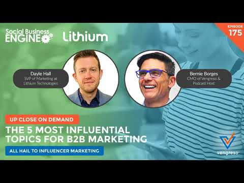 B2B Influencer Marketing Is Dead – All Hail Marketing To Influencers!