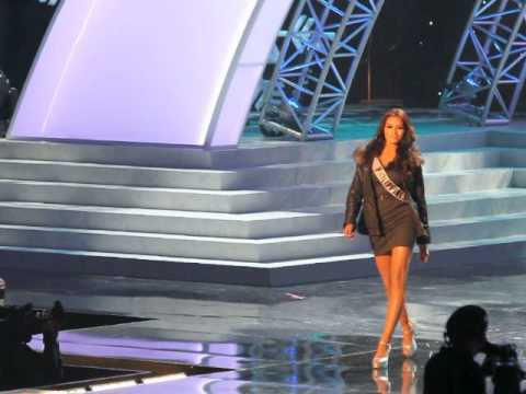 Ms. Universe 2012 (Philippines) Prelims Rehearsal