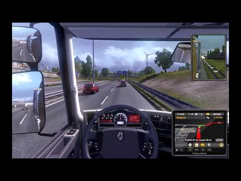 Truck Simulator II  *Amsterdam - Cambridge* - Okiem Truckera