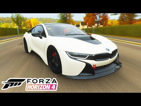 FORZA HORIZON 4 - COMPREI UMA BMW I8 muito INSANA!!!