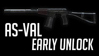 [BF4] AS-VAL - Early Unlock - PC