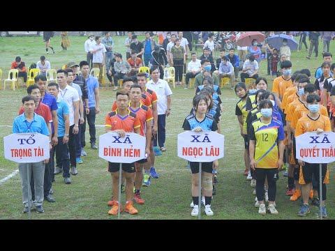 Giải vô địch bóng chuyền huyện Lạc Sơn - Hòa Bình 2021, toàn VĐV xinh gái đến không ngờ