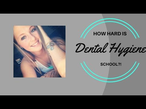 How hard is dental hygiene school?