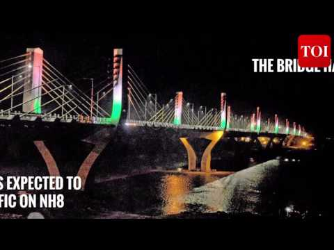 Gujarat's Bharuch gets India's longest cable-stayed bridge