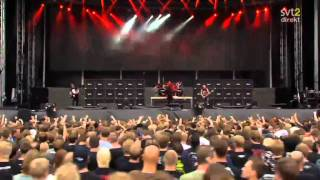 The Big 4 - Slayer - Hate Worldwide Live Sweden July 3 2011 HD