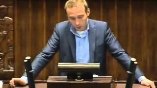[309/343] Adam Rybakowicz: Pani Marszałkini! Wysoka Izbo! W imieniu Klubu Poselskiego Ruch Palik...