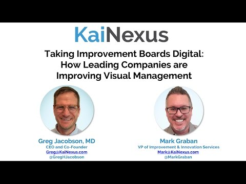 Taking Improvement Boards Digital:  How Leading Companies ar