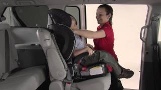 Frontier 90, Pinnacle 90, Pioneer 70 - Securing Your Child in Harness Mode