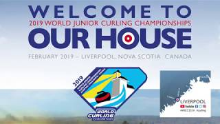 World Junior Curling Championships 2019 - Welcome to our house