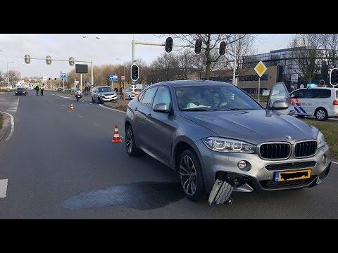 BMW veroorzaakt ongeval Balkenweg
