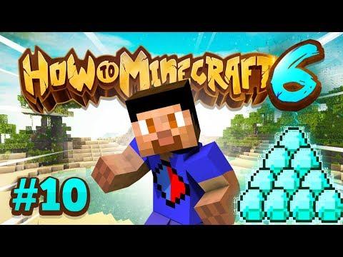 DIAMOND MINING MISSION! - How To Minecraft #10 (Season 6)