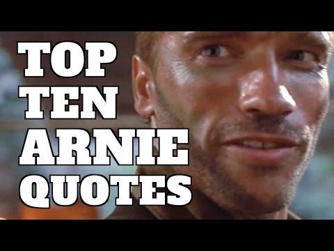 Top 10 Best Arnold Schwarzenegger Movie Quotes Quickie