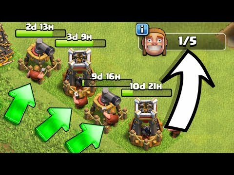 WE NEED MORE BUILDERS!! - Clash Of Clans - SO MANY NEW UPGRADES!!