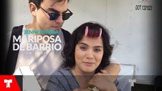 Mariposa de Barrio | Un día de grabación con Samadhi Zendejas | Telemundo Novelas