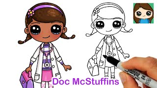 How to Draw Doc McStuffins | Dottie